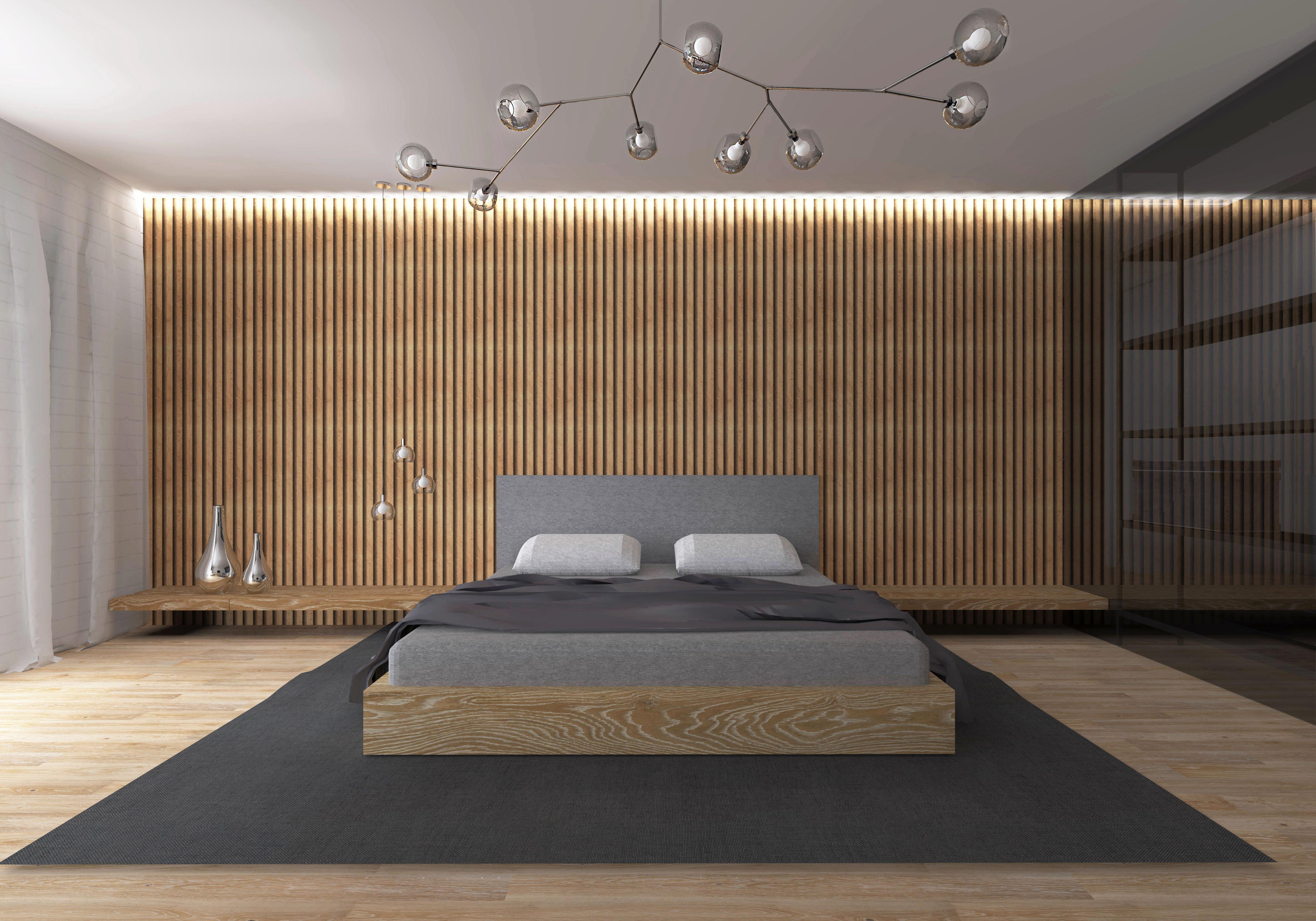 Sypialnia Z Garderobą Dominika Jarecka Architektura Wnętrz